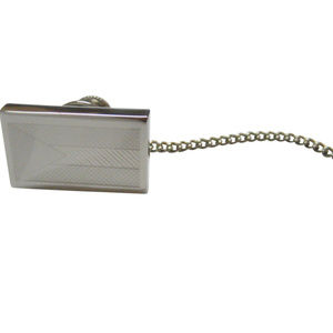 Silver Toned Etched Bahamas Flag Tie Tack